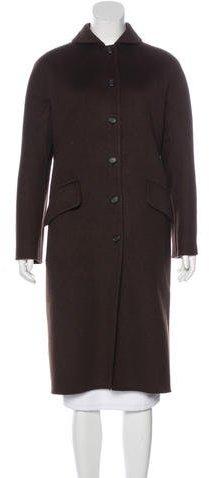 pradaPrada Angora & Cashmere-Blend Coat
