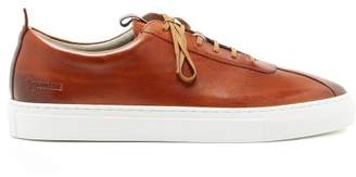 Grenson Low Top Leather Trainers - Mens - Tan