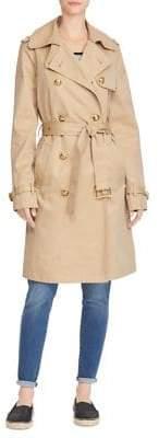 Lauren Ralph Lauren Twill Cotton Trench Coat