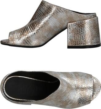 6aaca5cf8982 MM6 MAISON MARGIELA Silver Women s Shoes - ShopStyle
