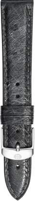 Michele 16mm Ostrich Leather Watch Strap