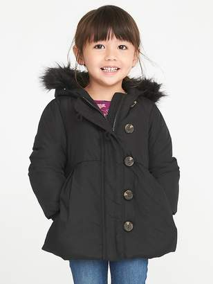 Old Navy Frost-Free Toggle Coat for Toddler Girls