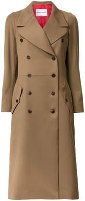 Sonia Rykiel double-breasted mid coat