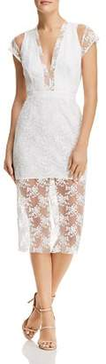 Lee SAU Emery Embroidered Dress