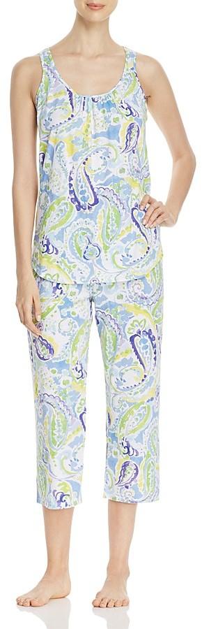 Lauren Ralph LaurenLauren Ralph Lauren Knit Capri PJ Set