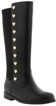 MICHAEL Michael Kors Emma Gem Heart Studded Riding Boot