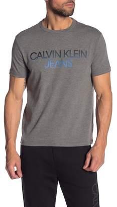 Calvin Klein Gradient Crew Neck Tee