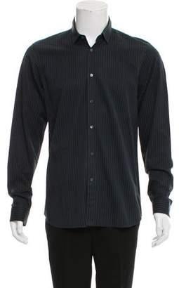Miu Miu Striped Dress Shirt