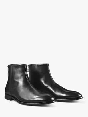 John Varvatos Nyc Back Zip Boot
