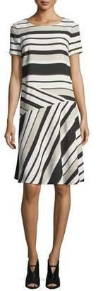 Lafayette 148 New York Greta Legacy Stripe Shift Dress
