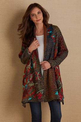 Soft Surroundings Kierran Kaleidoscope Jacket