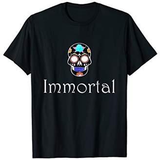 Mens Immortal Skull T Shirt