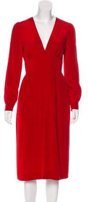 Marc by Marc Jacobs Silk Long Sleeve Dress