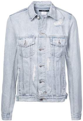 Ksubi distressed effect jacket