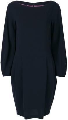 Talbot Runhof bell sleeve dress
