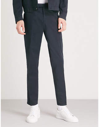 Tiger of Sweden Gordon regular-fit tapered cotton trousers