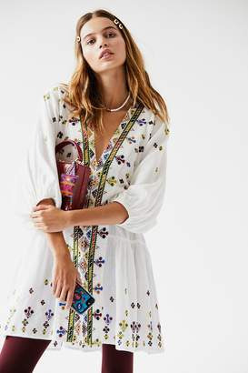 Light It Up Embroidered Tunic