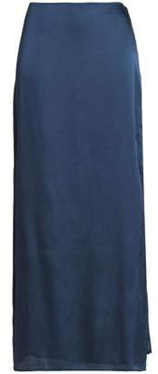 Halston Satin Maxi Skirt