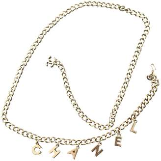 5f68431f594 Chanel Vintage Gold Chain Belts