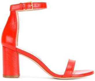 Stuart Weitzman Nudist block heeled sandals