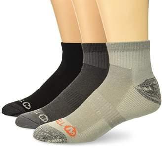 Merrell Men's Quarter 3 Pack Sock