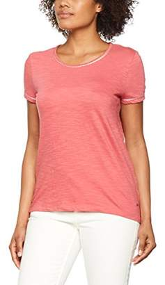 Tom Tailor Women's Shirt W. Tape and Tassels T,(Size: Small)