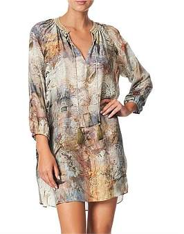 Camilla Raglan Sleeve Tunic Dress