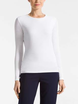 St. John Double Layer Mesh T-Shirt