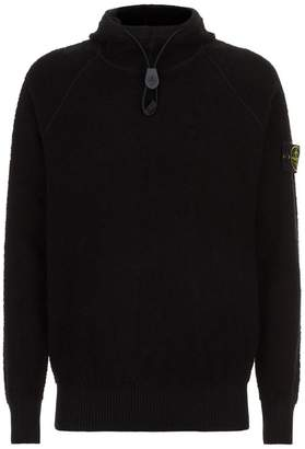 Stone Island Terry Cotton Hoodie
