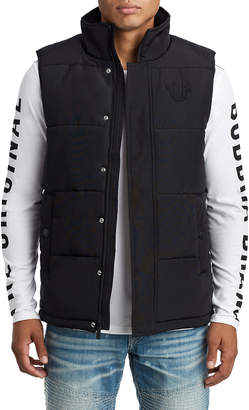 True Religion MENS QUILTED VEST