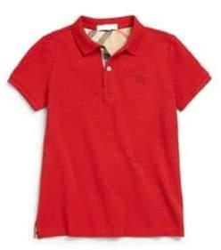 Burberry Boy's Pique Polo Shirt
