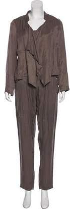 Gerard Darel High-Rise Pant Set