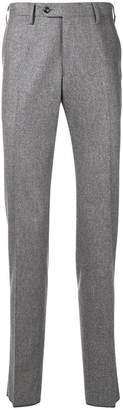 Barba tailored fitted trousers