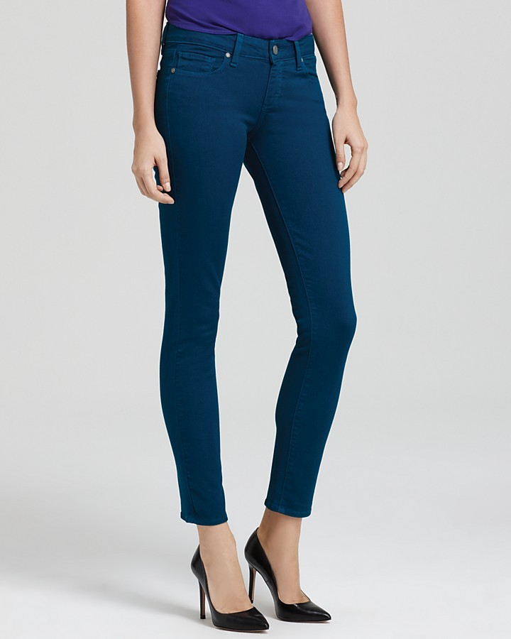Paige Jeans - Skyline Ankle Peg in Peacock