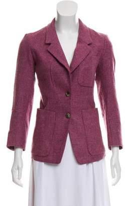 Saint Laurent Notch-Lapel Virgin Wool Jacket