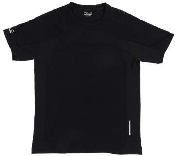 Polo Sport Men's Body-Mapped Jersey T-Shirt (S, Polo Black)