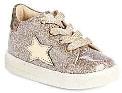 Naturino Baby's & Little Girl's Falcotto Sasha Metallic Star-Patch Sneakers