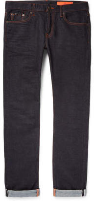 Jean Shop Jim Skinny-Fit Selvedge Stretch-Denim Jeans