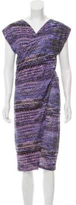 See by Chloe V-neck Midi Dress w/ Tags