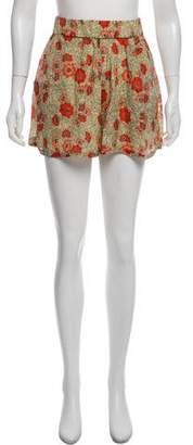 Etoile Isabel Marant Silk Blend Mini Shorts