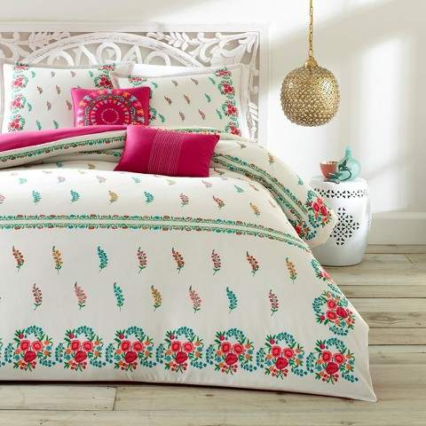 Azalea Skye Natural Myra Duvet Cover Set