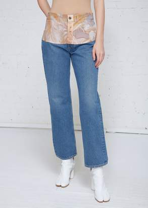 Maison Margiela Cropped Denim Pant