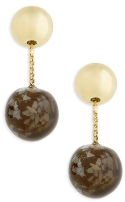 Women's Shashi Marbled Drop Earrings $46 thestylecure.com