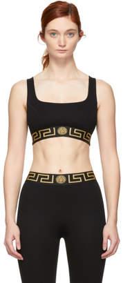 Versace Underwear Black Sporty Bra