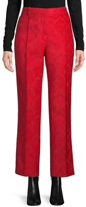 Givenchy Women's Velvet Jacquard Skinny Pants