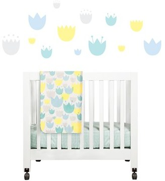 Babyletto 'Garden' Mini Crib Sheet, Changing Pad Cover, Stroller Blanket & Wall Decals $79 thestylecure.com