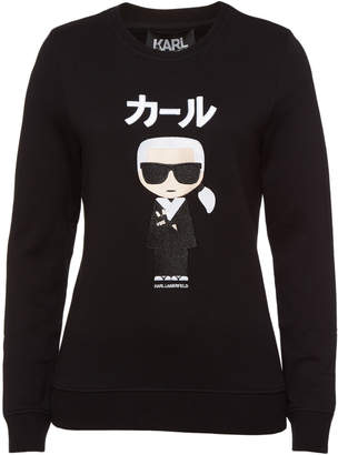Karl Lagerfeld Paris Ikonik Japan Sweatshirt