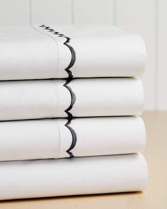 Westport 300Tc Scallop Cotton Percale Sheet Set