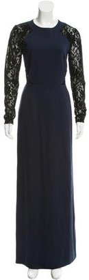 Alice by Temperley Lace-Accented Maxi Dress $245 thestylecure.com