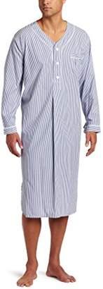 Majestic International Men's Bengal Striped Nightshirt